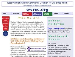 ewrcc.org - a non-profit community organization whose goal it is to ensure their youth are drug-free.
